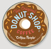 K-Cup Donut Shop, Coffee People (24 count)