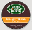 K-Cup Breakfast Blend Decaf, Green Mountain (24 count)