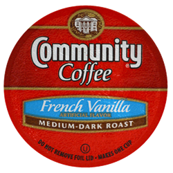 Community Coffee Single Serve Cups -