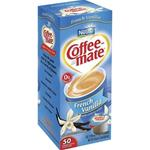 Creamer - Coffee Mate Liquid - French Vanilla Flavor 50/.05 oz cups