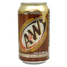 A & W Root Beer Cans 12 oz  24/case - City Vending Co  Inc